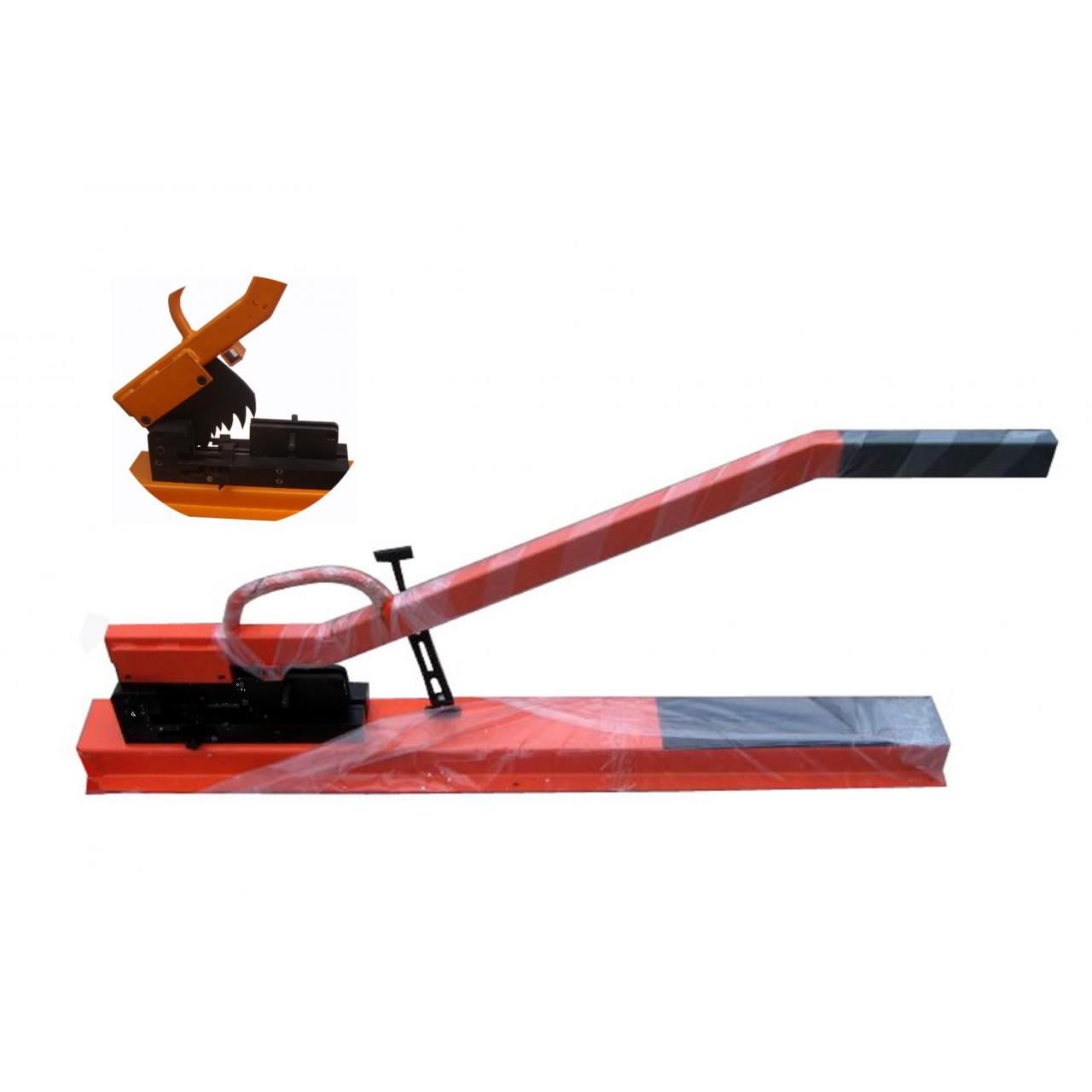 Buy cheap hand-operation profile shear machine from wholesalers