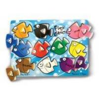 Buy cheap Fish Colors Mix N Match Peg Puzzle From Melissa & Doug from wholesalers