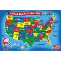 Buy cheap Melissa & Doug USA Map 51 pcs Floor Puzzle From Melissa & Doug from wholesalers