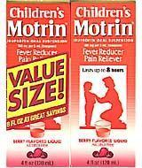 Buy cheap Children's Motrin Berry Flavored Suspension 8 Ounces Two-pack, 4 oz. Each from wholesalers