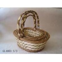 Buy cheap willow basket(GL4003 S/3) from wholesalers