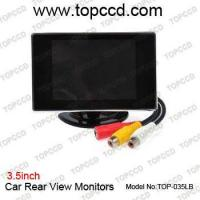 Buy cheap 3.5inch Color TFT LCD Car Rear View Mirror Monitor Black from wholesalers