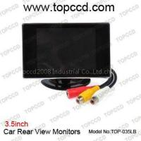 Buy cheap 3.5inches Car rear view LCD monitor (www.topccd.com) from wholesalers