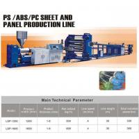 Buy cheap PS/ABS/PC sheet extrusion line from wholesalers