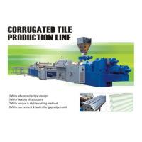 Buy cheap Corrugated tile extrusion line product