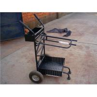 Buy cheap Horse saddle cart powder coated in Germany style from wholesalers