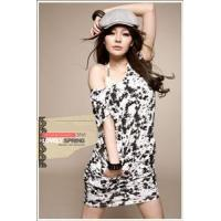 Buy cheap B511# new arrival~ popular round-collar sleeveless loosen T-shirt from wholesalers