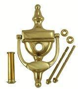 Buy cheap 6 Inch Tall Solid Brass Traditional Door Knocker with Viewer from wholesalers