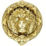 Buy cheap 9 5/8 Ribbon & Reed MGM Lion - Lost Wax Cast Door Knocker from wholesalers