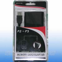 Buy cheap PS3 Accessories PS2 to PS3 memory card adaptor from wholesalers