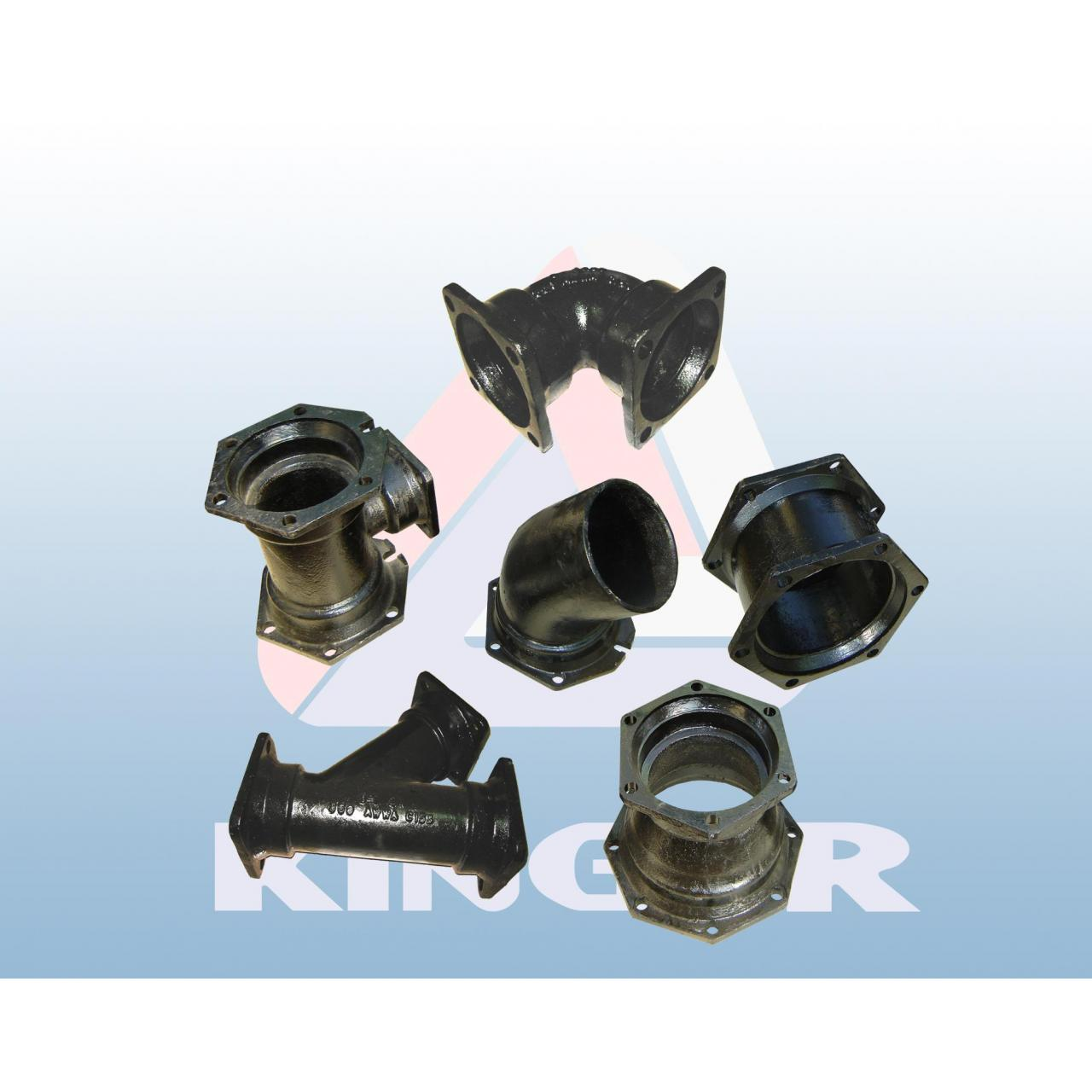 Buy cheap Pipe Fittings Ductile Iron Fittings AWWA C153 from wholesalers