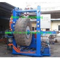 Buy cheap cold tire retreading equipment-OTR tire buffing machine from wholesalers