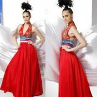 Buy cheap Red tape dress evening dress ladies evening dresses ladies product