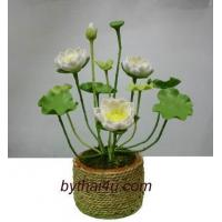 Buy cheap CLAY FLOWERS LOTUS from wholesalers
