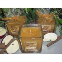 Buy cheap Baked Apple Pie Scented Square Jar Candle 10 Oz from wholesalers