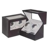 Buy cheap Double watch winder with watch box and jewel case from wholesalers