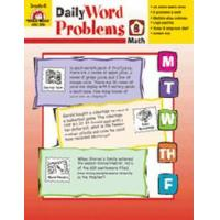 Books DAILY WORD PROBLEMS GR. 6