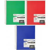 Buy cheap Arts and Crafts SPIRAL 5 SUBJECT NOTEBOOK CR 180 CT from wholesalers