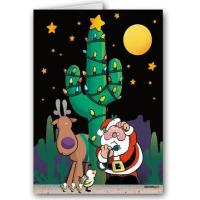 Buy cheap Christmas Cards No Outlet - Funny Western Christmas Card from wholesalers