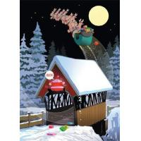 Buy cheap Christmas Cards Low Bridge - Funny Christmas Card from wholesalers