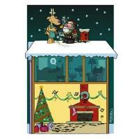 Buy cheap Christmas Cards Messy Chimney Funny Christmas Card from wholesalers