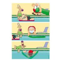 Buy cheap Christmas Cards Pool Rafting Funny Christmas Card from wholesalers