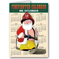 Buy cheap Christmas Cards Firefighter Funny Santa - Christmas Card from wholesalers