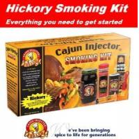 Buy cheap Cajun Injector Hickory Smoke Smoker Kit from wholesalers