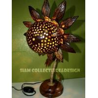 Buy cheap Coconut Shell Lamp ( L ) from wholesalers