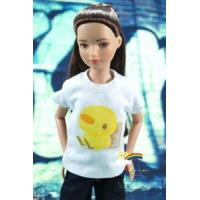 "12"" Tonner Marley Doll Outfit White T-Shirt Chicken"