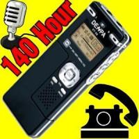 Buy cheap Audio & Phone Recorders 140 Hour Phone/Voice/Cell Recorder + FM Radio from wholesalers