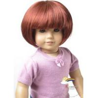 Buy cheap 18 American Girl Short Bob 12-13 Doll Wig Carrot #A013 from wholesalers