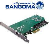 Buy cheap Sangoma A101D One T1/E1 port with optimum PCI Express interface from wholesalers
