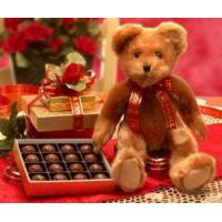 Buy cheap Chocolate Gift Basket Valentine Teddy Bear from wholesalers
