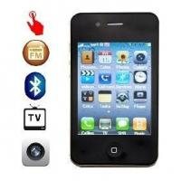 Buy cheap 2.6inch TFT Touch Screen 2.0M pixel digital Camera Cell Phone with TVand Dual Bluetooth from wholesalers