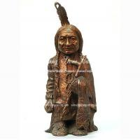 Buy cheap Bronze Sculpture Native American series product