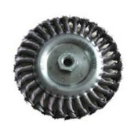 Buy cheap Wheel Brush, Twisted Knotted Wire from wholesalers