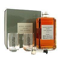 Buy cheap Nikka Wooden Presentation Box with Barrel and 2 Glasses from wholesalers