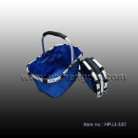 Buy cheap outdoor product Picnic folding backet (HPJJ-320) from wholesalers