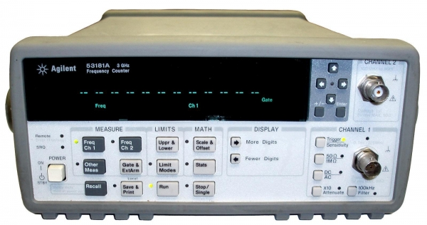 Agilent Frequency Counter : Agilent hp a universal frequency counter of us instrument