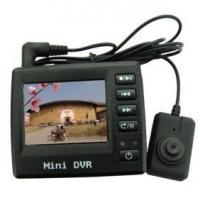 China kajoin 2 Inch LCD Spy Button Color Pinhole Camera with DVR on sale
