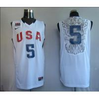Buy cheap NBA Jersey USA  5# Durant White from wholesalers