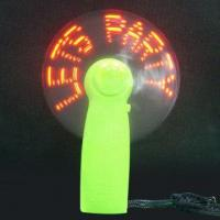 Buy cheap HS-CF-006 LED Message Fan from wholesalers