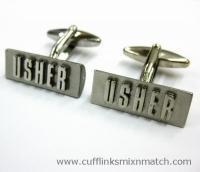 Buy cheap - Highlighted USHER Cufflinks from wholesalers