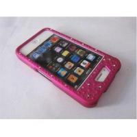 Buy cheap FOR IPHONE 4G mobile phone diamond/rhinestone bling snap-on cover for iphone 4 from wholesalers
