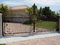 Buy cheap Golden Orchid | Driveway Aluminum Gate | Wrought Iron Gate | Sliding Gate from wholesalers