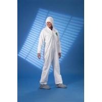 Buy cheap TYVEK Protective Coveralls with Attached Hood & Tyvek FC Friction Boots, Elastic Wrists. from wholesalers