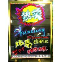 Buy cheap LED Fluo Writing Board Shineasy LED Fluorescent Handwriting Board from wholesalers