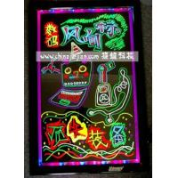 Buy cheap LED Fluo Writing Board Children Learn Graffiti Board from wholesalers
