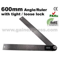 Buy cheap Digital Angle Finder Meter Protractor Ruler 360 600mm from wholesalers